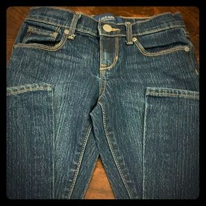 Old Navy's girls boot cut jeans. NWOT
